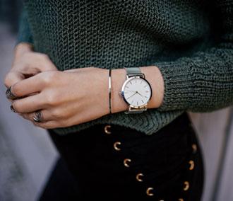 Assortir ses bijoux à sa montre