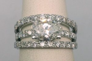 Bague luxe diamant et or